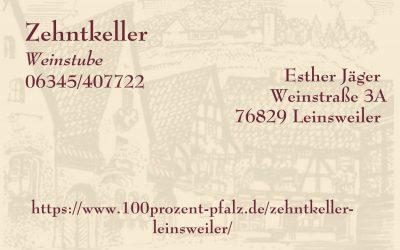Zehntkeller Leinsweiler